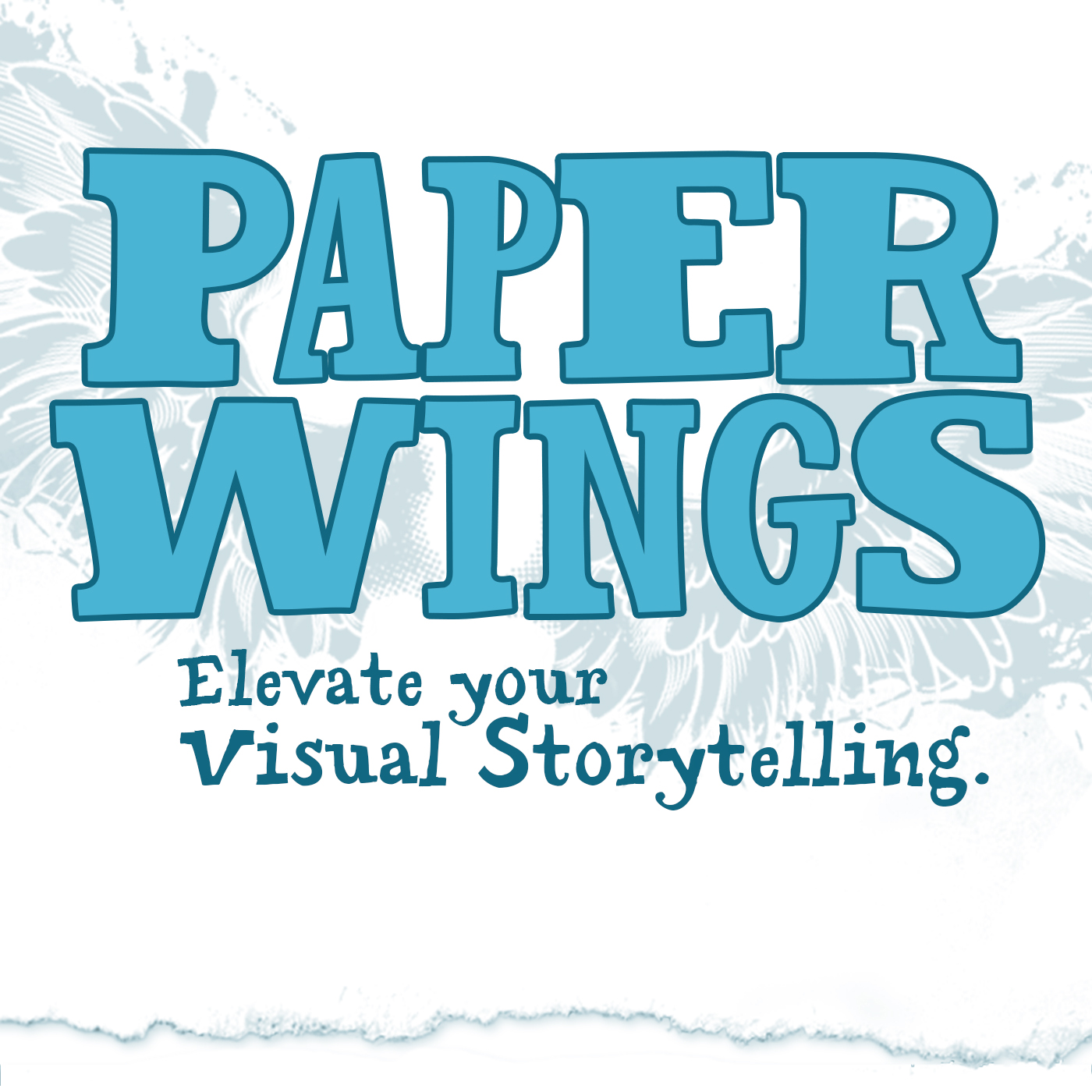 The Paper Wings Podcast Logo